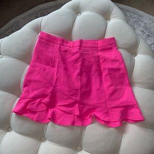 💞 hot pink mini skirt 💞